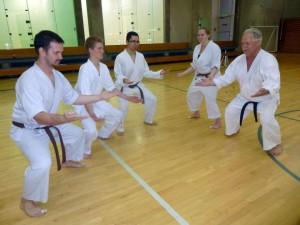 bsu boise state shotokan karate kibadachi
